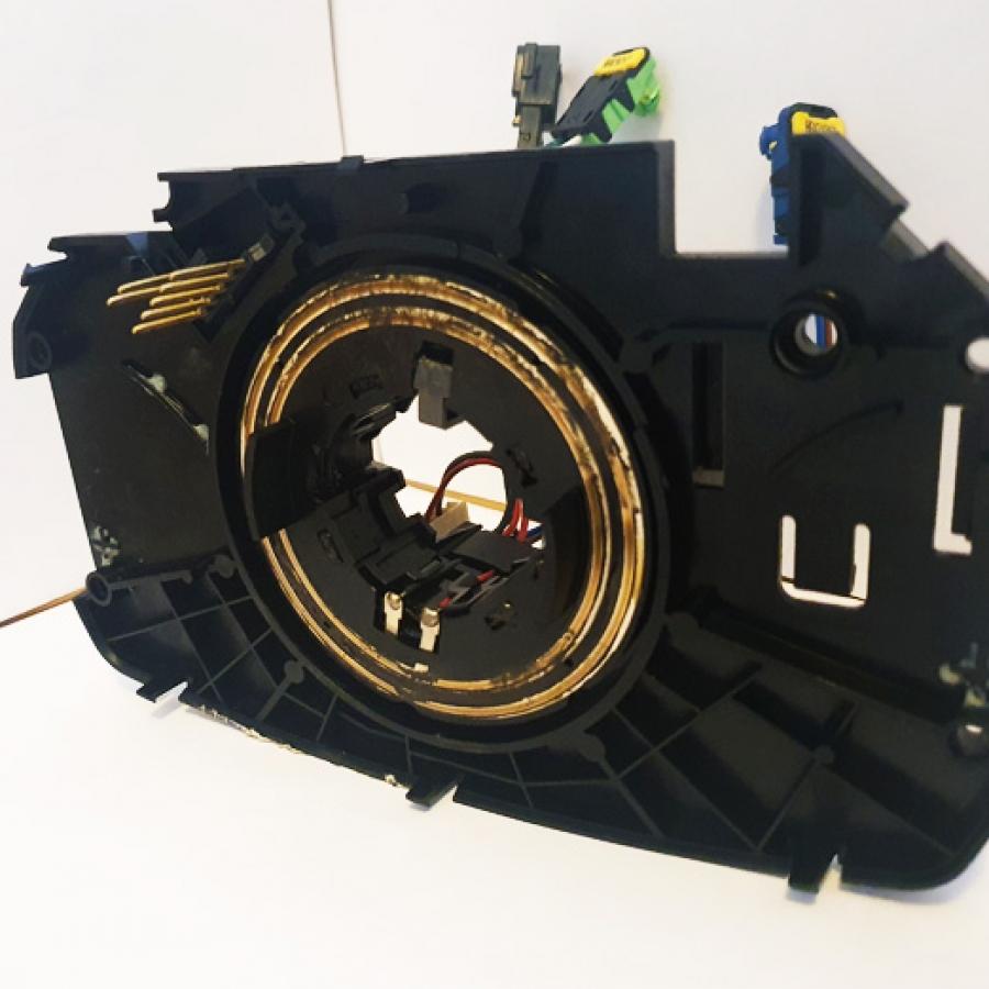 Instalación y Reparación de Anillos del Airbag Megane
